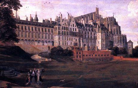 Peinture du Palais du Coudenberg