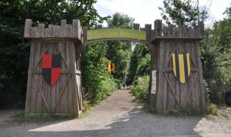 parc aventure Moyen-Age
