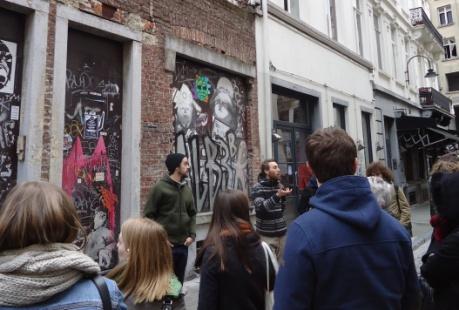 Graffiti Tour, visite street art à Bruxelles
