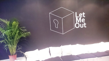 let me out logo