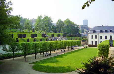 Parc de l'Abbaye de la Cambre à Bruxelles