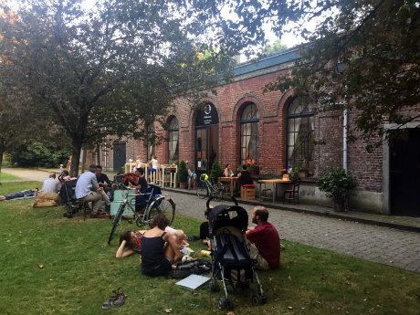 Jardin secret Jean Felix Hap à Bruxelles