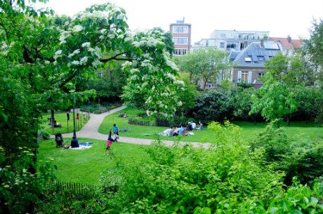 Parc Tenbosch à Bruxelles