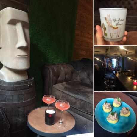 Montage photos du bar Caraca Speakeasy
