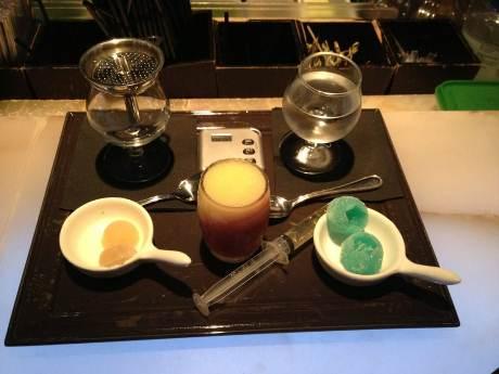 Bar à cocktail crystal Lounge