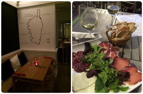 bar à vin corse à Bruxelles