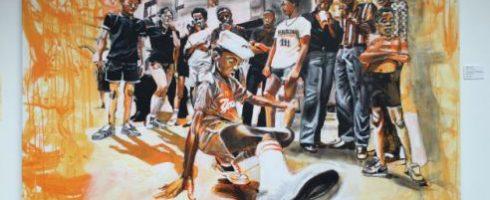 Oeuvre sur le début du hip hop