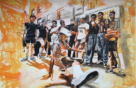 Naissance du hip hop aux USA