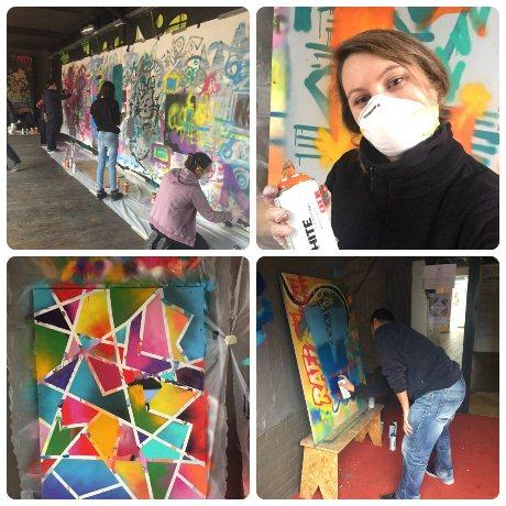 Apprendre la graffiti à la Manufacture111