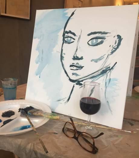 Mon tableau en cours de réalisation