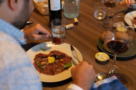 repas avec un chef à domicile