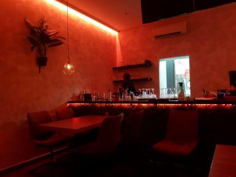 photo de la salle du restaurant Afrosian à Bruxelles