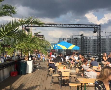 Jardin rooftop à Bruxelles
